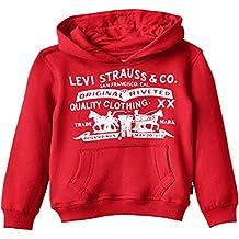 Levi's N91500g Sweatshirt, Sudadera con Capucha Para Niños
