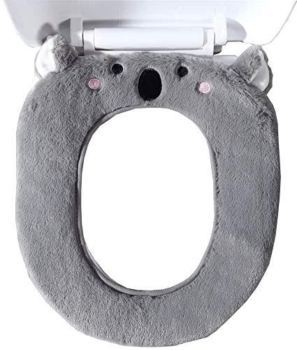 Gifts Treat WC-Sitzbezüge Cute Animal Style WC Zubehör Weiches Plüsch Bad Wärmer Matte (Koala)