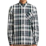 Fred Perry Bold Check Shirt in Navy Medium