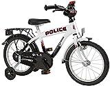 Bachtenkirch Kinder Fahrrad POLICE Oval-S, schwarz/weiß, 18 Zoll, 1300474-PC-88