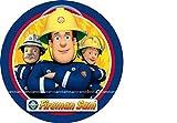 Tortenaufleger Sam der Feuerwehrman 04