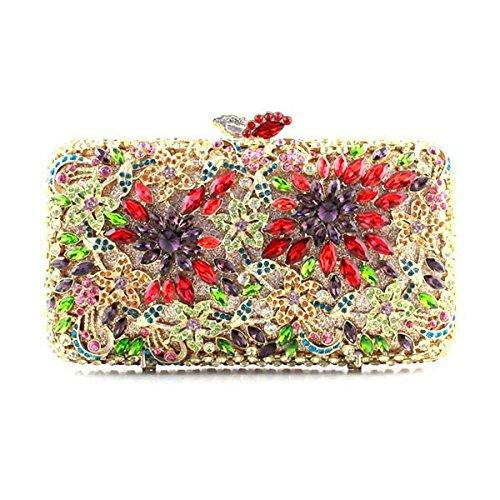 Frauen-Handtaschen Hochwertige Luxus-Diamant-Abendtasche A