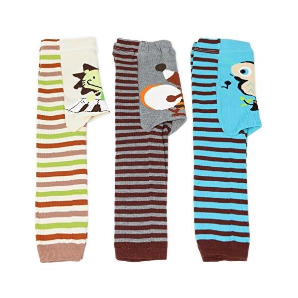Dotty Fish Niños Bebé Leggings 3Pack–tamaños 6–12meses, 12–24meses y 24+ meses azul Donkey Snowflake Snowman Talla:90cm/ 12-24 Months 1