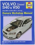 Volvo S40 & V50 Diesel (07-13) 07 to 62 (Haynes Car Workshop Manuals)