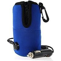 12V alimentación eléctrica leche botella de agua taza calentador calentador para Auto coche ...