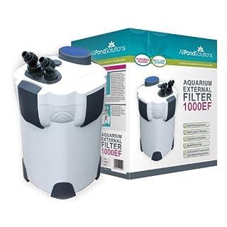 All Pond Solutions 1000EF Aquarium External Filter, 1000 Litre/ Hour