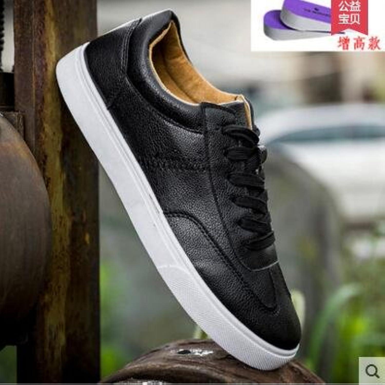 GUNAINDMX  Spring And And And Summer Low to Help bianca scarpe Casual Sports scarpe Men scarpe,41,519 nero [Increase] | Scelta Internazionale  d774c5