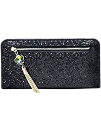 Blingg Sequined And Metal Tassel Clutch Bag Gift For Girls/Women