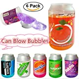 #5: Fancyku 6 Pieces Colorful Crystal Mud Magic Slime Putty Clay Soft Scented Stress Relief Sludge DIY Crystal Slime Toy for Kids Adults