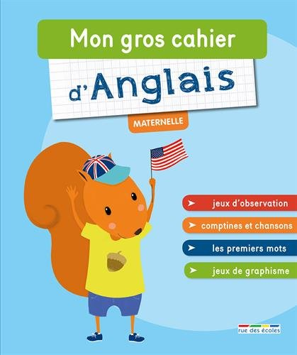 Mon gros cahier d'anglais - maternelle