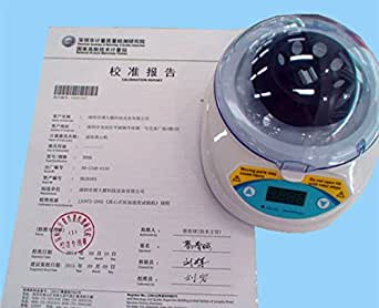 Mini-6k Médical Laboratoire Centrifugeuse Centrifuge Séparateur 6000 rpm 3000g 220V