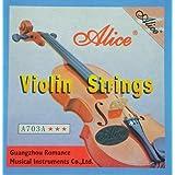 Jeu de 4 cordes pour violon - Neuf sous blister