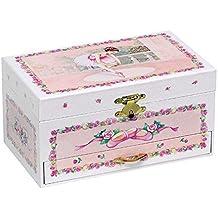 Goki Ballerina IV - Caja de música con cajones y bailarina