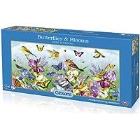 Gibsons  Jigsaw/Puzzle Giordano, Farfalle e fiori, 600 pezzi - Fiori E Farfalle