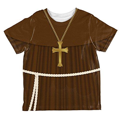 Edwardian Mönch Halloween Kostüm Ganzen Kleinkind T Shirt Multi 2 ()