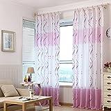 Salón dormitorio Balcón de Windows Cortinas - Tipo: C