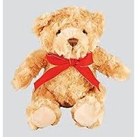 3Stück–Traditionelle Plüsch Teddy Bär mit Schleife, 20cm/HxLxB