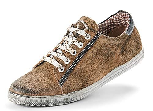 Maddox Damen Trachten Schuhe Sneaker Valentina - Wood Nappato Gr. 38