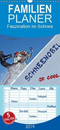 Schneemobil - so cool - Familienplaner hoch (Wandkalender 2019 , 21 cm x 45 cm, hoch): Schneemobil fahren - unbeschreibliches Fahrgefühl mit viel ... (Monatskalender, 14 Seiten ) (CALVENDO Sport)