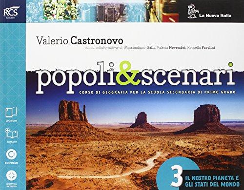 Popoli e scenari. Per la Scuola media. Con e-book. Con espansione online: 3