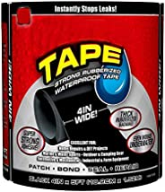 VOETEX ZONE Waterproof Flex Tape,Seal Repair Tape, Super Strong Adhesive Sealant Tape to Stop Leakage of Kitch