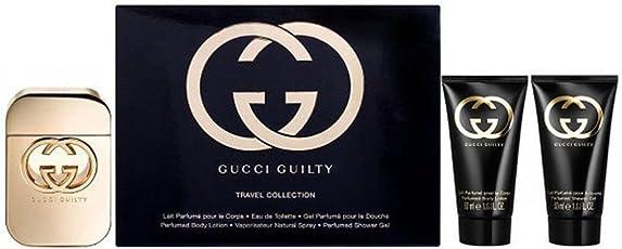 Gucci Guilty Eau De Toilette Spray 50ml/Body Lotion 50ml/Dusche Gel 50ml