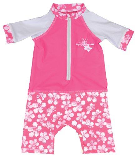 Fedjoa - Baby Mädchen UV Schutz Schwimmanzug - HAWAÏ 12/18Monate