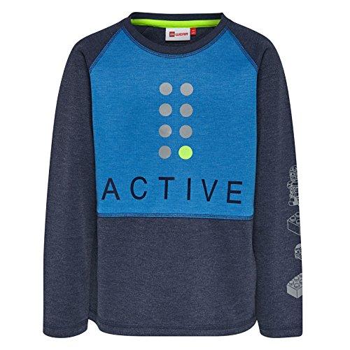 Lego Wear Jungen Sweatshirt Thomas Blau (Dark Navy 590) 140 -