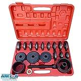 23-teiliger Universal-Werkzeugsatz zum Aus- und Einbau von Radlagern - für Frontantrieb