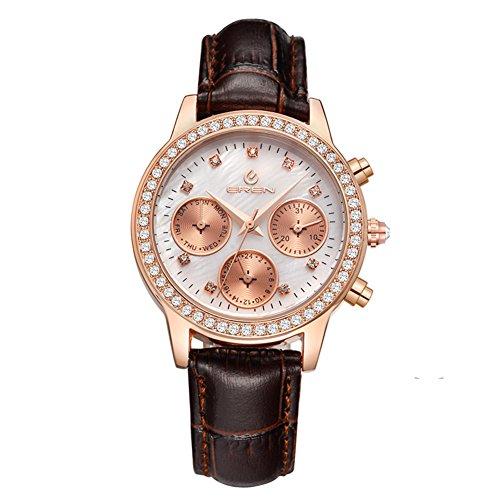 lässige wasserdichte Armbanduhr/Quarz-Uhr/Business casual Uhren-C