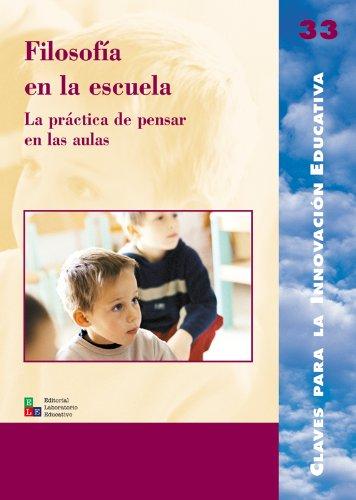 Filosofía en la escuela: 033 (Editorial Popular)