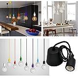 Princeway Couleur Silicone Luminaire Suspendu- Style Européen Moderne IKEA Lampe...