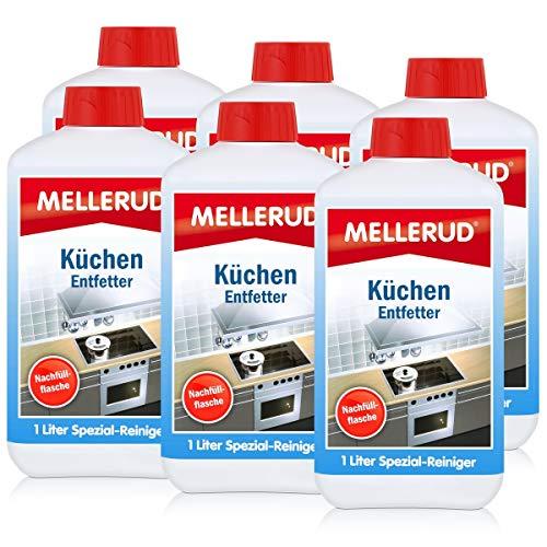 Mellerud Küchen Entfetter 1 L Nachfüller - Fettfreie Sauberkeit (6er Pack)