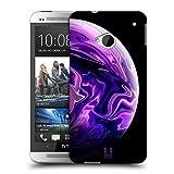 Head Case Designs Violet Acryl Giessende Planeten Ruckseite Hülle für HTC One M7