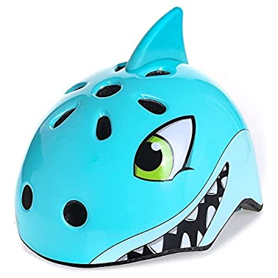 AOAVE Kid's Multi-Sport Helmet, 54-58 CM/21-23 IN, 3-12 Years Old Boys and Girls Safety Helmet for Roller Skating Skateboard BMX Scooter Cycling by AOAVE