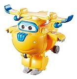 Super Wings- Mini Tramsform a Bots Donnie EU710020-Transform-a-Bots, YW710020, Yellow