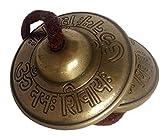 Tingsha Om Namah Shivaya Tibetische Meditation Bells Chimes (5,7cm)