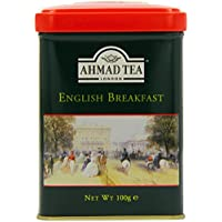 6 Pack Ahmad Tea English Scene Caddy English Breakfast 100 g