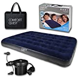 Double Airbed Inflatable Camping Blow Up Mattress Air Bed And Electric Pump