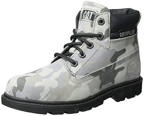 Caterpillar Colorado Plus, Bottes Mixte Enfant, Gris (Grey Camo), 38 EU