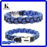 Paracord Halsband, Paracordhalsband, Hundehalsband, Halsband Paracord, Halsband mit Gravur