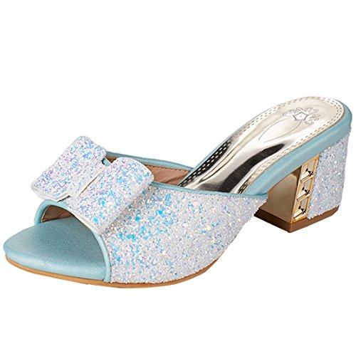Pantofole Aiyoumei Aiyoumei Blu Pantofole Blu Donna Pantofole wSx8Hqz
