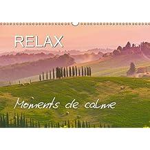 RELAX - Moments de calme (Calendrier mural 2018 DIN A3 horizontal): Paysages qui invite au repos (Calendrier mensuel, 14 Pages ) (Calvendo Nature)