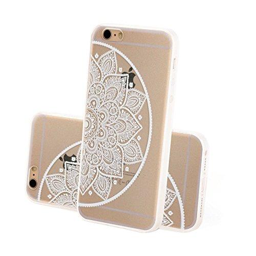 4-punkt-dual-link (FINOO ® | Iphone 5 / 5S Hardcase Handy-Hülle | Transparente Hart-Back Cover Schale mit Motiv Muster | Tasche Case mit Ultra Slim Rundum-schutz | stoßfestes dünnes Bumper Etui | Kringel Henna 4)