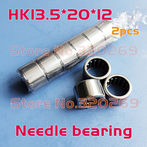 Generic 2x Open end drawn cup 7941/13. 5 needle bearing 13. 5x20x12mm shaft Tasse Nadellager roller HK13. 5x20x12 Shell Type bearing