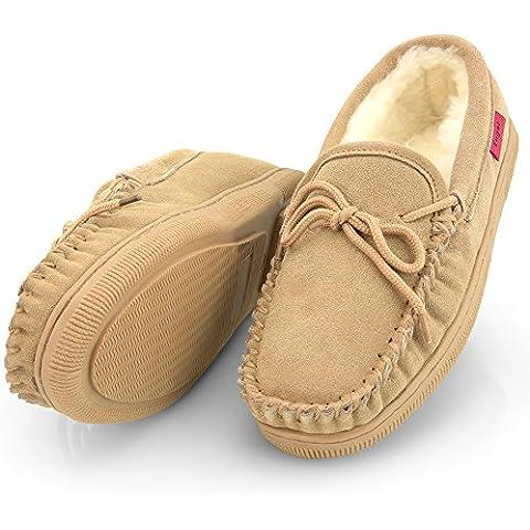 Pantofole pelle di pecora