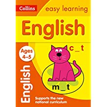 English Ages 4-5: Collins Easy Learning (Collins Easy Learning Preschool)