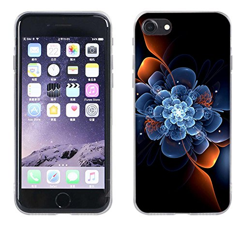 Apple iPhone 7 Custodia Cover, Fubaoda Silicone Caso [super luna] Molle di TPU Cristallo Trasparente Sottile Anti Scivolo Case Posteriore Della Copertura Della Protezione Anti-urto per Apple iPhone 7 pic: 25
