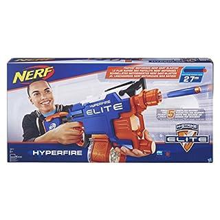 Hasbro B5573EU4 - N-Strike Elite Hyper-Fire halbautomatischer Spielzeugblaster, mit Trommelmagazin (B01BP6GPV0) | Amazon price tracker / tracking, Amazon price history charts, Amazon price watches, Amazon price drop alerts