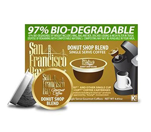 San Francisco Bay Coffee OneCup 72 ct. Donut Shop Blend by Rogers Family Coffee Co.